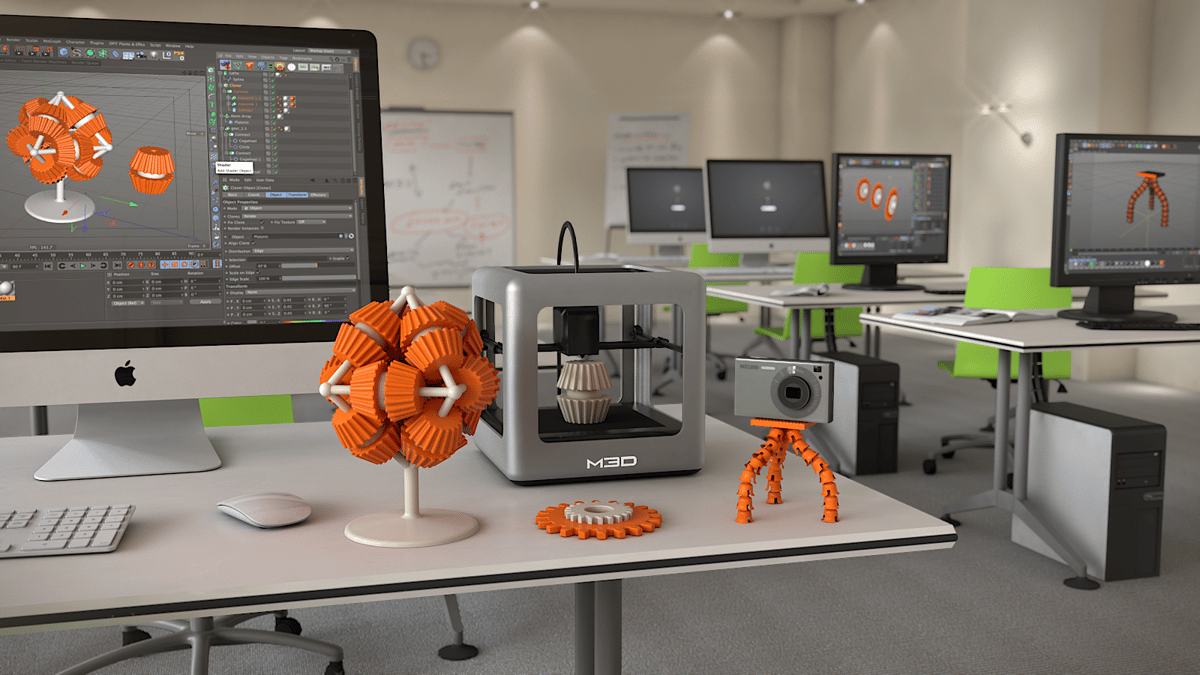 With a price tag of only $300, The Micro is designed to make 3D printing cheap and user-friendly (Photo: M3D)