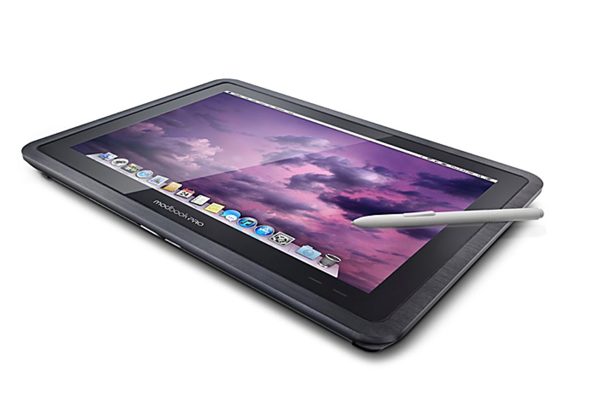 The Modbook Pro is set to bring Mac OS X Mountain Lion to tablets