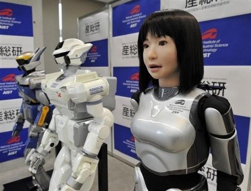 HRP-4C humanoid robot