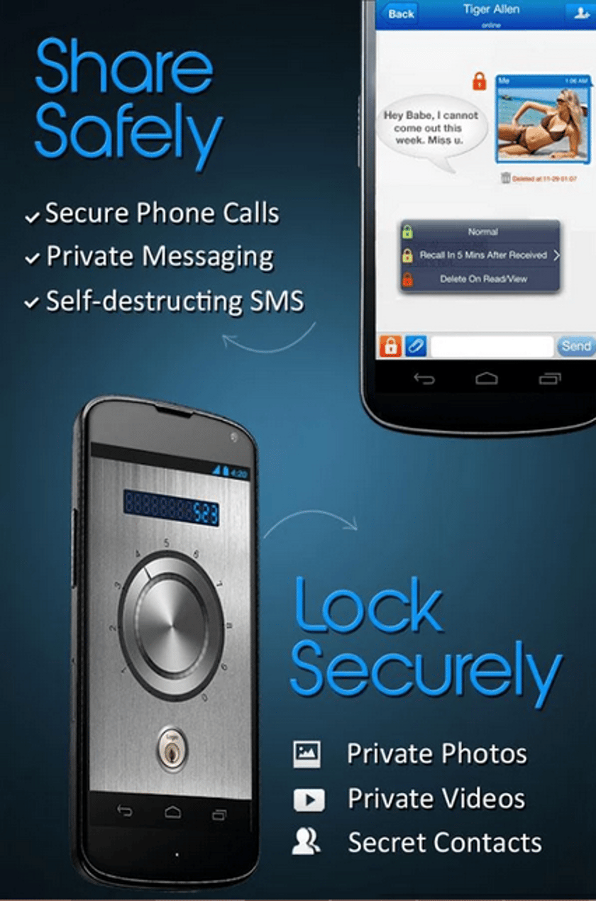 Apps to easily encrypt your text messaging and mobile calls