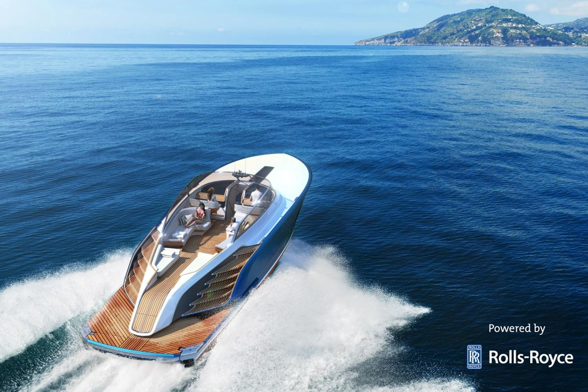 The Aeroboat S6can do 40 knots thanks to itstwin Rolls-Royce Series 2000 M96 engines