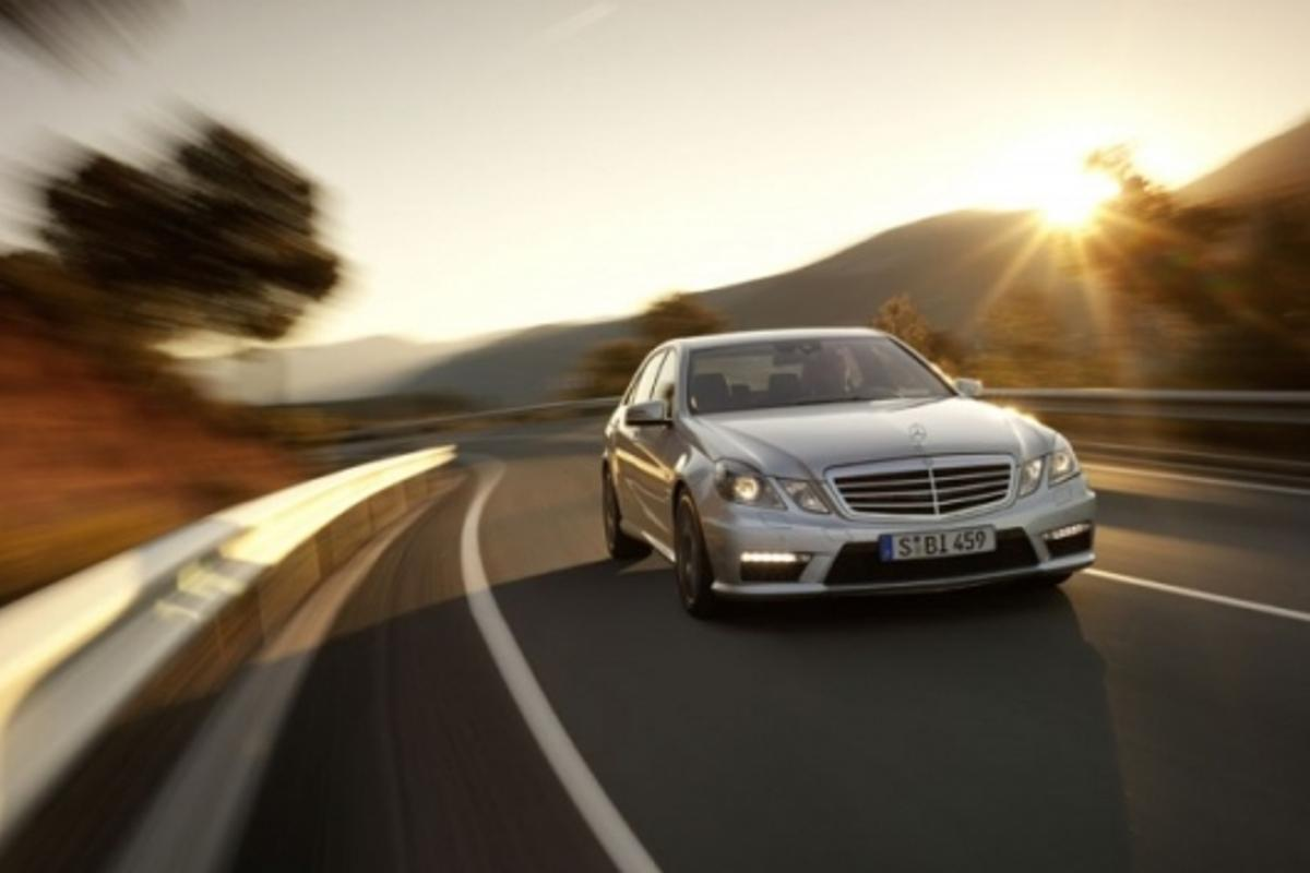 The new Mercedes Benz E63 AMG