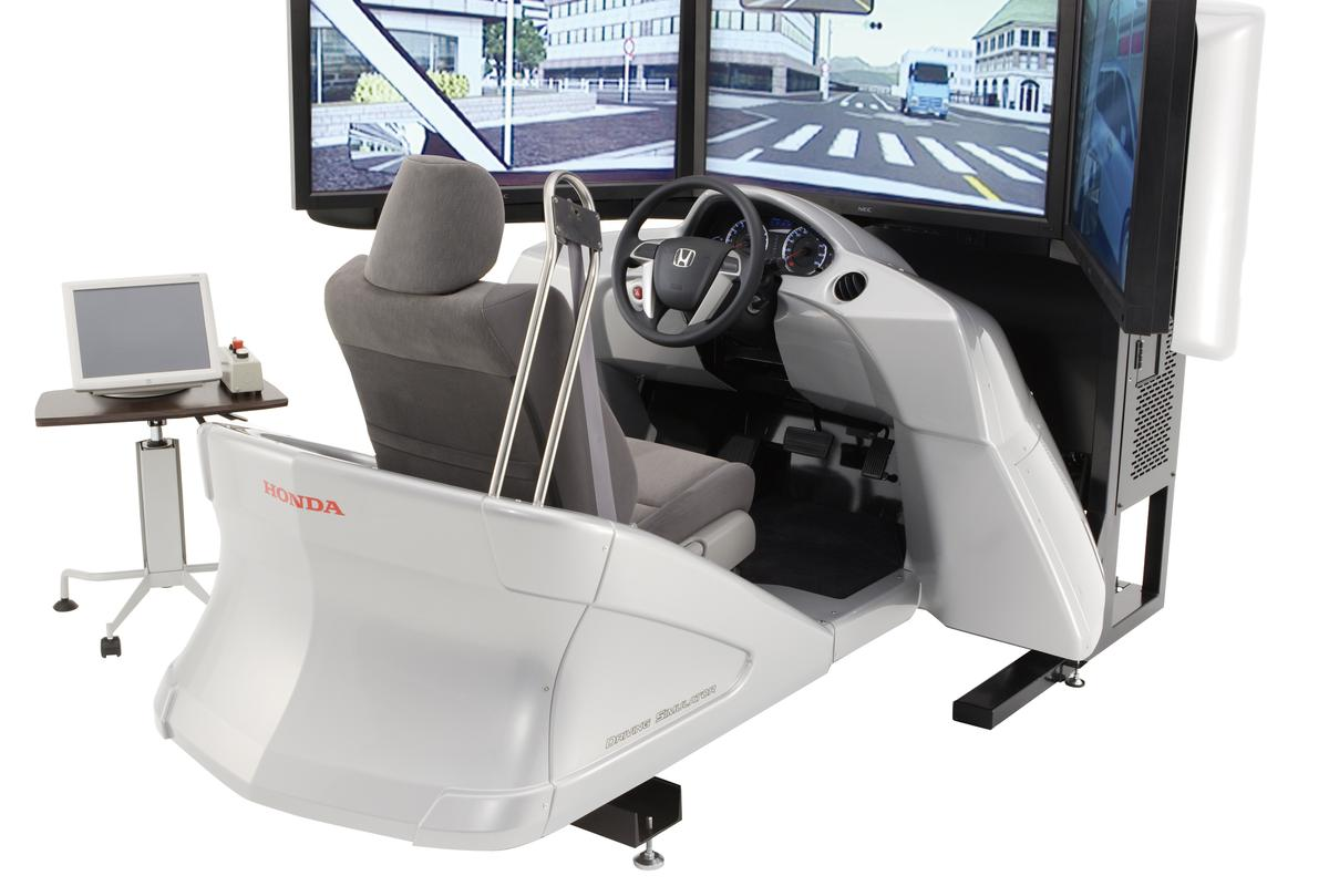 The all-new Honda automobile driving simulator is something all secondary schools should look seriously at implementing