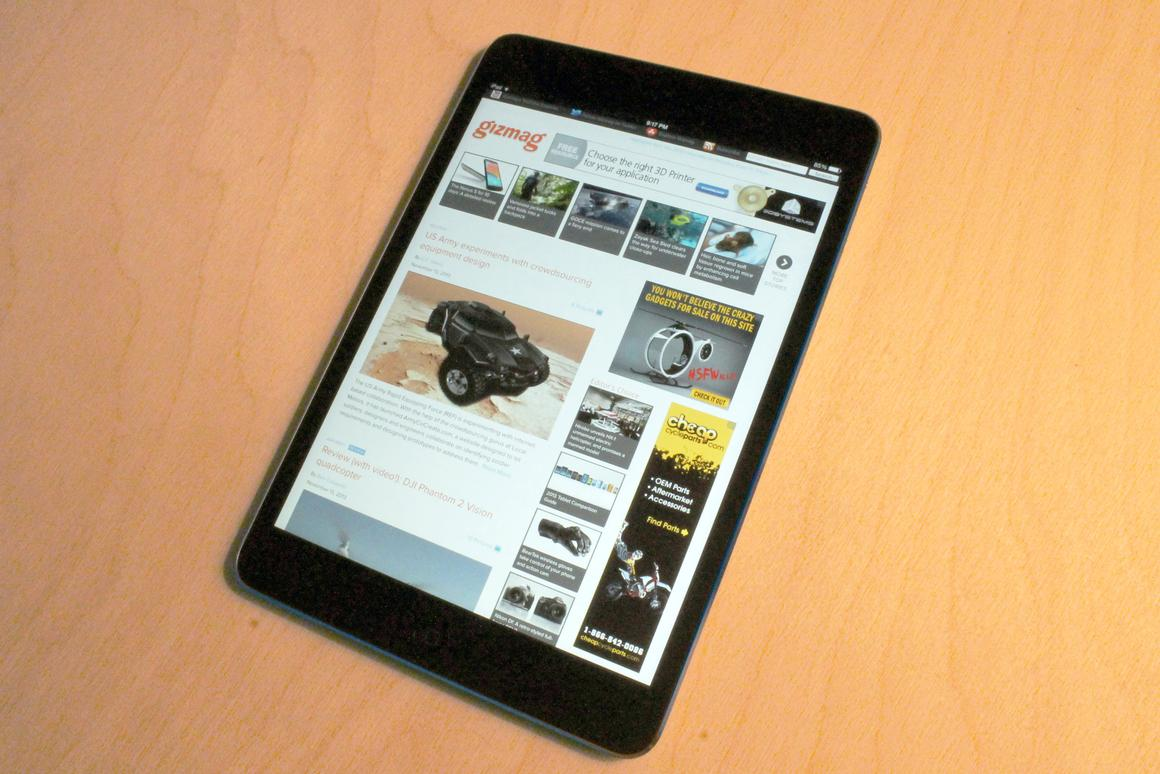 Gizmag goes hands-on with the new iPad mini with Retina Display