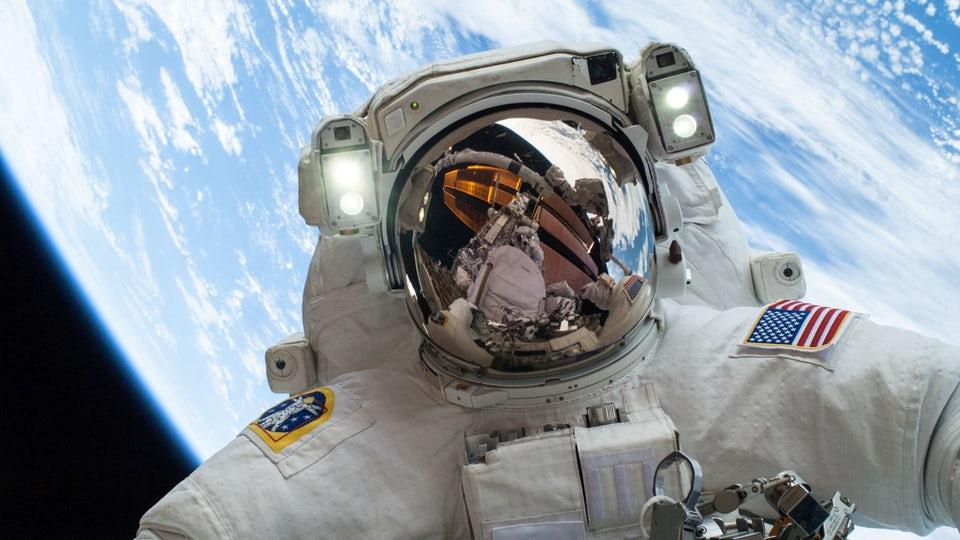 How does spending long periods in space impact the human body?