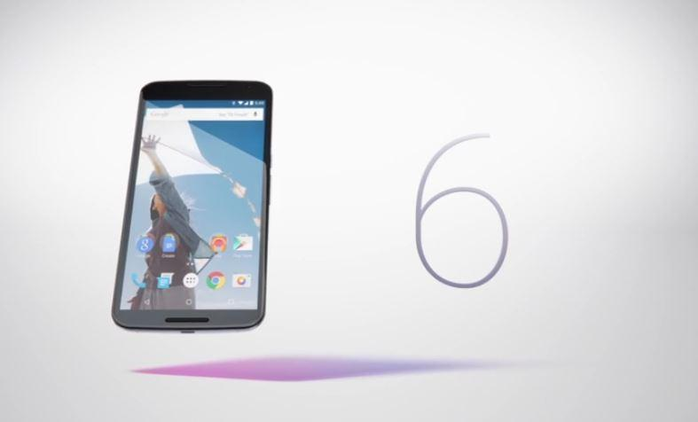The Nexus 6 drops in November