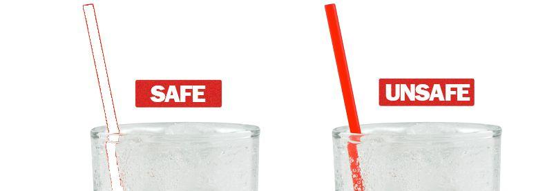 DrinkSavvy could take the form of a straw or stir stick