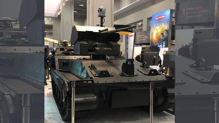 The Robotic Technology Demonstrator (RTD) made its debut at this week's AUSA event