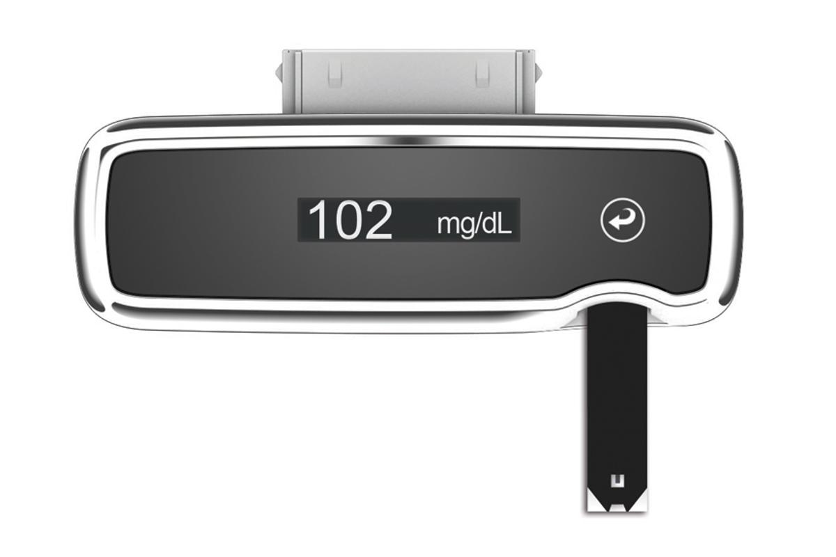 The iBGStar plug-in glucose meter