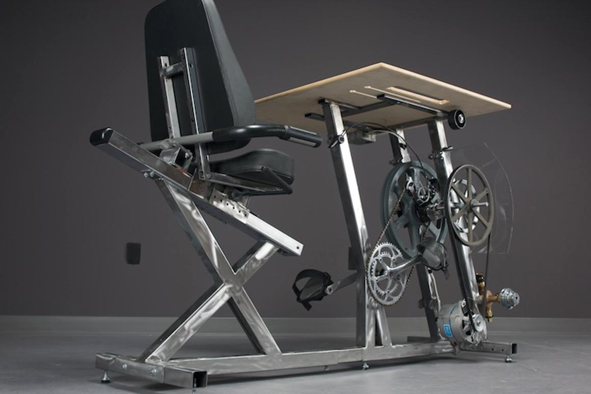 Big Rig provides electricity and energy to perform useful tasks – just add pedal power (Photo: Pedal Power)