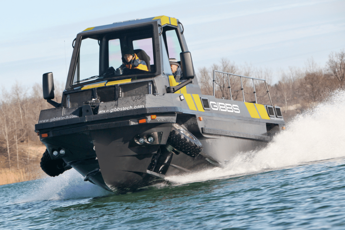 Gibbs Technologies has announced the availability of its Phibian (pictured) and Humdinga II amphibious trucks