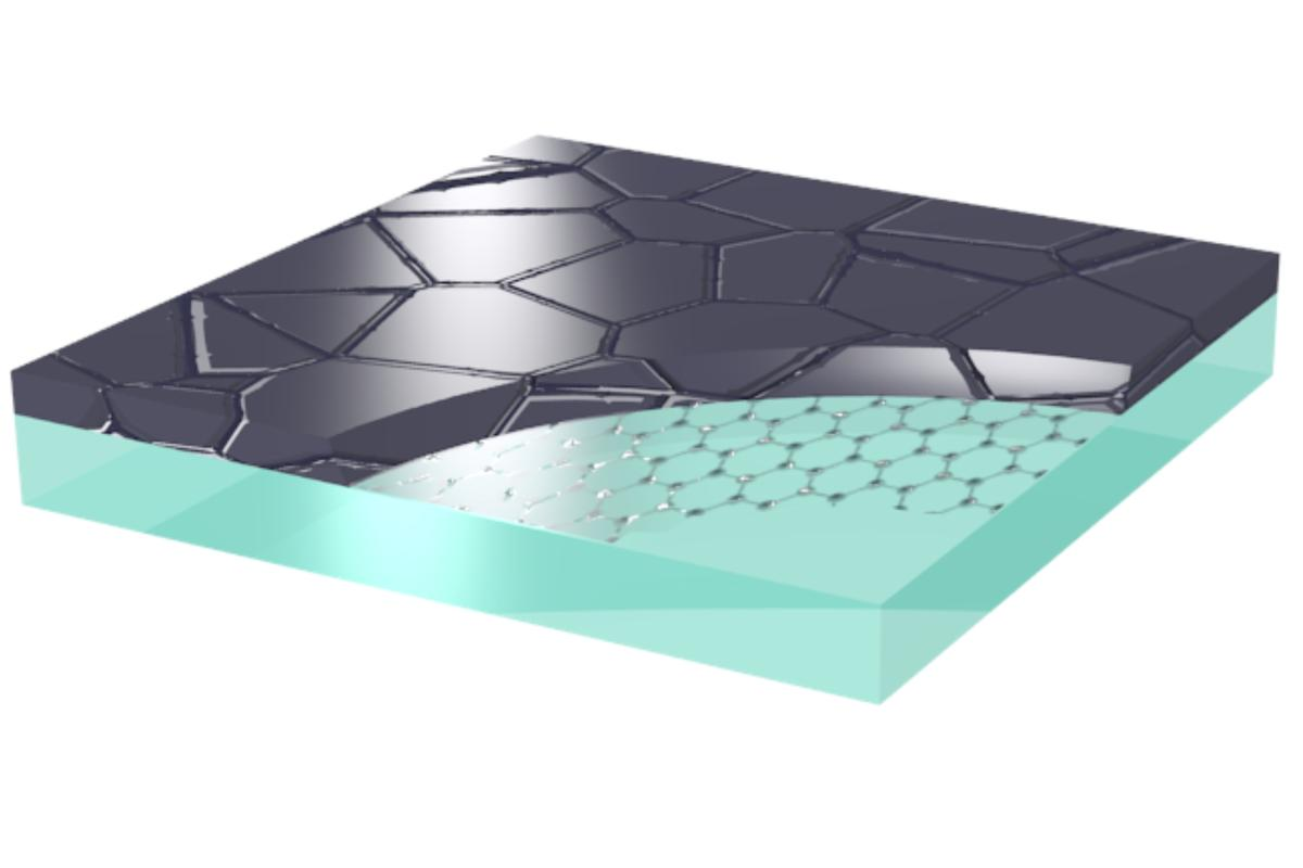 A new finding suggests that single graphene sheets retain their outstanding conductive properties even when surrounded by foreign materials (Image: Marc A. Gluba/HZB)