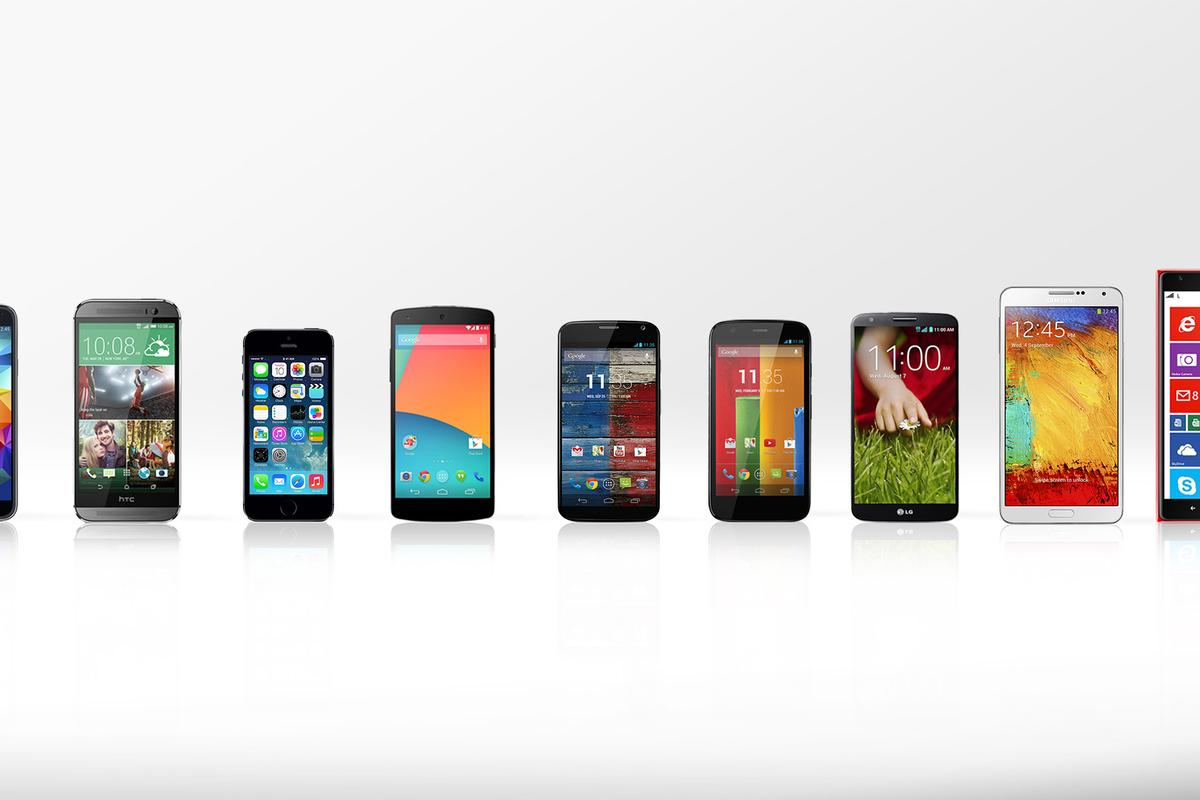 Gizmag compares some of the best smartphones you can buy today