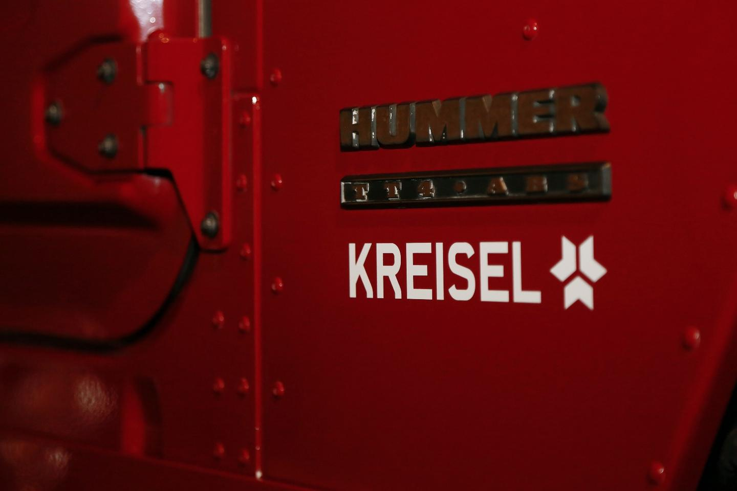 Kreisel Electric says the electric conversion of the Hummer H1 took around two months