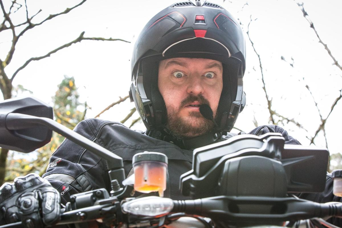 Loz faces his fears and rides the KTM 1290 Super Duke R