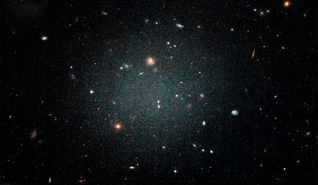 The galaxy NGC 1052-DF2 has been found to have very little dark matter