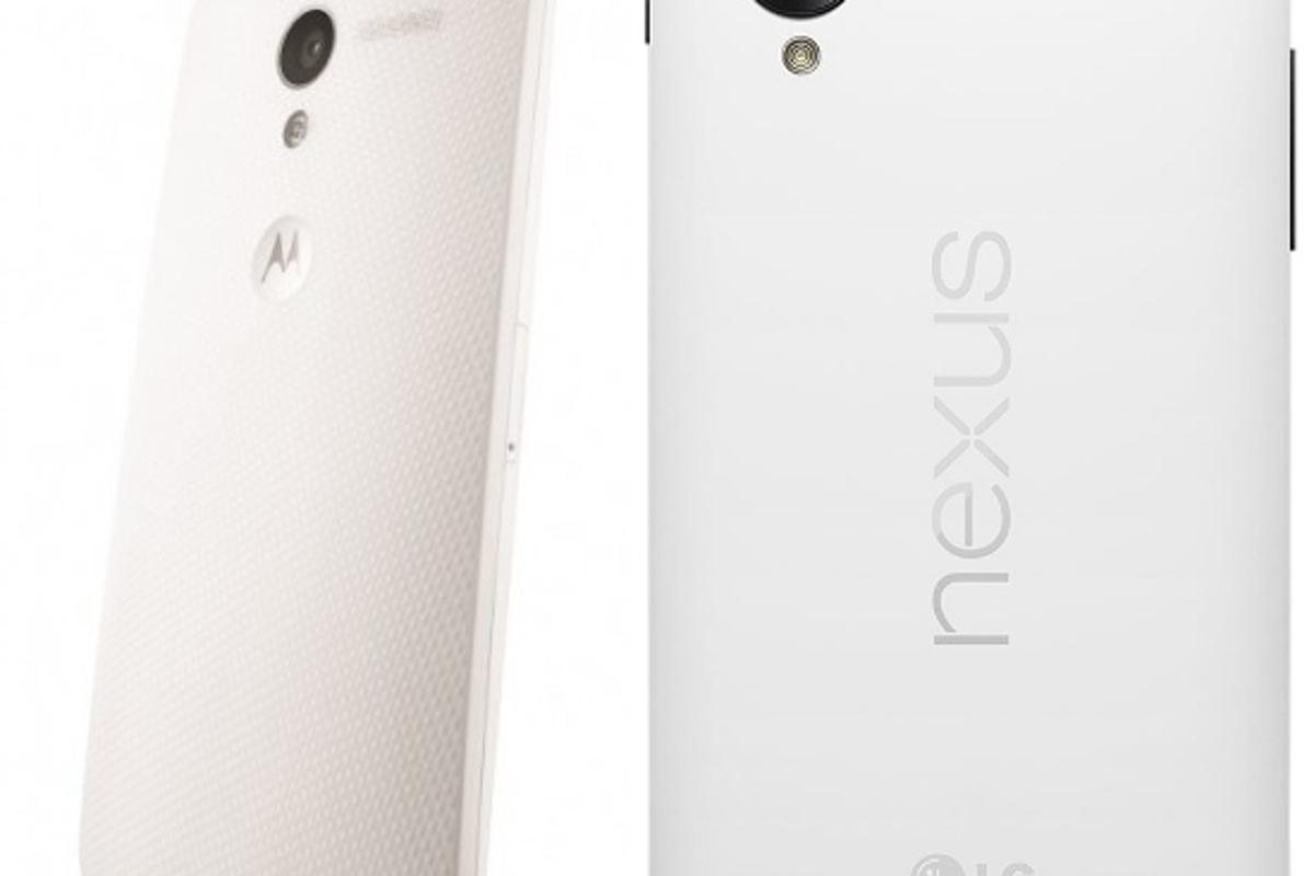 The Moto X out-curves the Nexus 5