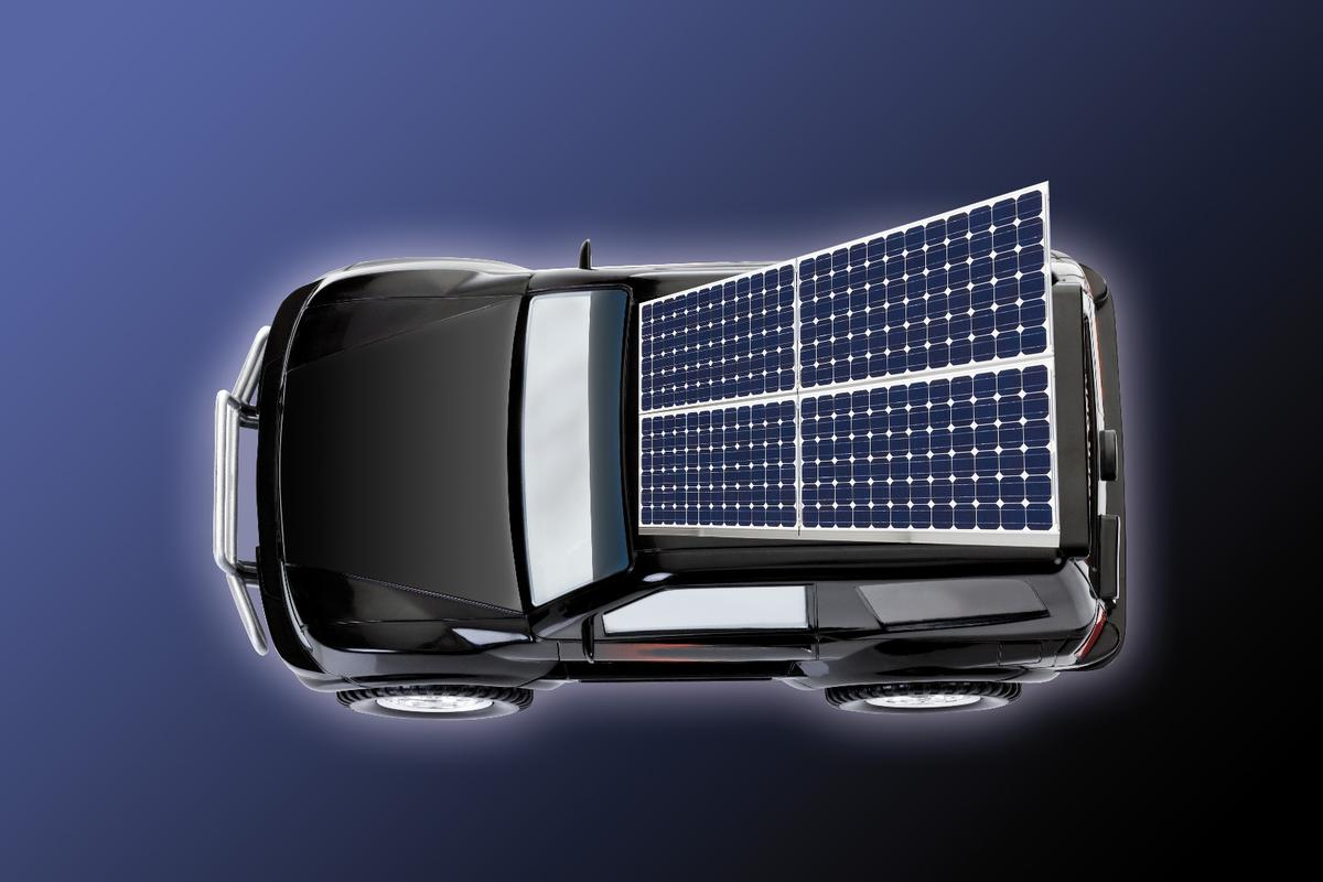 Perovskite solar cells, which are much smaller than traditional panels, could soon revolutionize electric vehicle charging