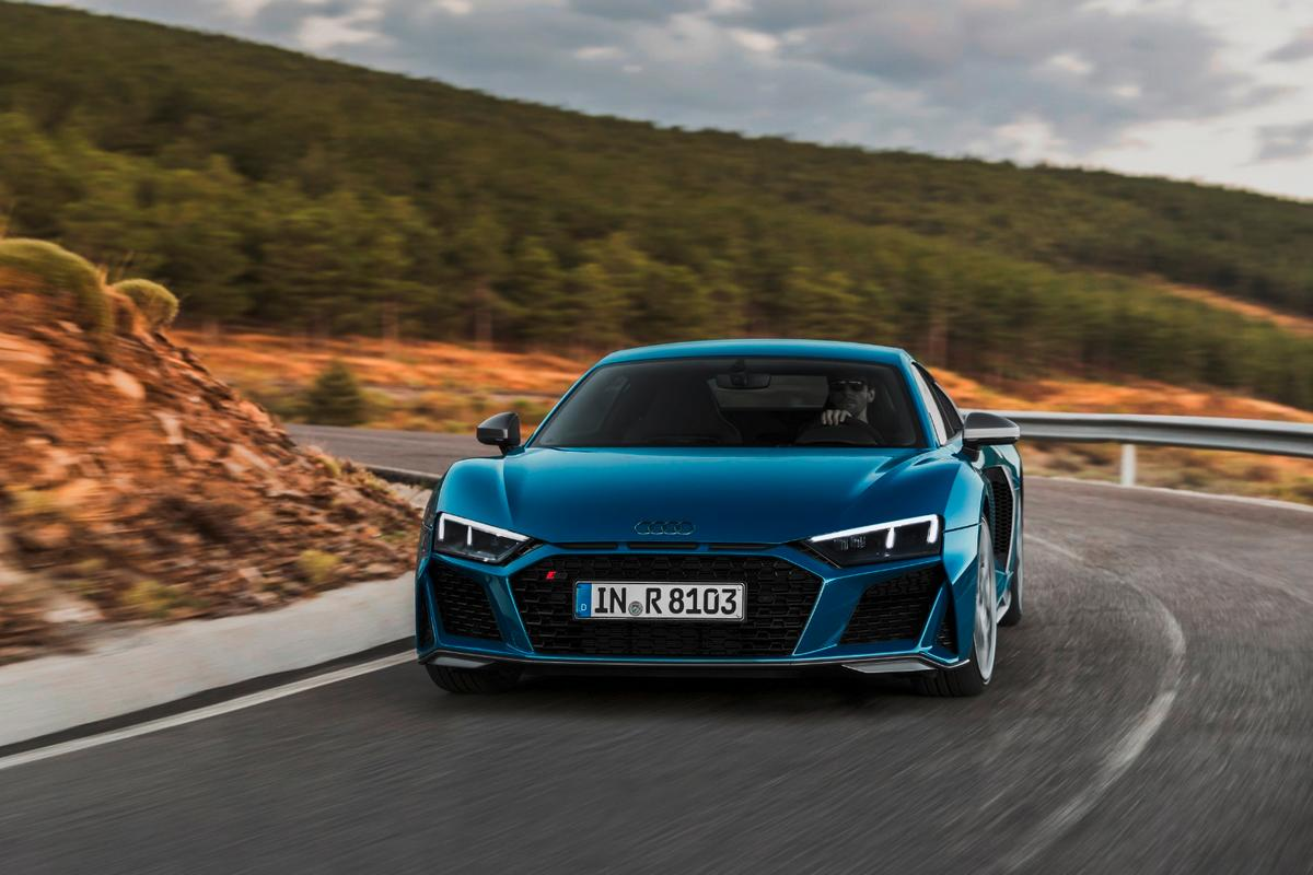 The new 2019 R8 models will arrive in Germany and other European countries in the first quarter of 2019