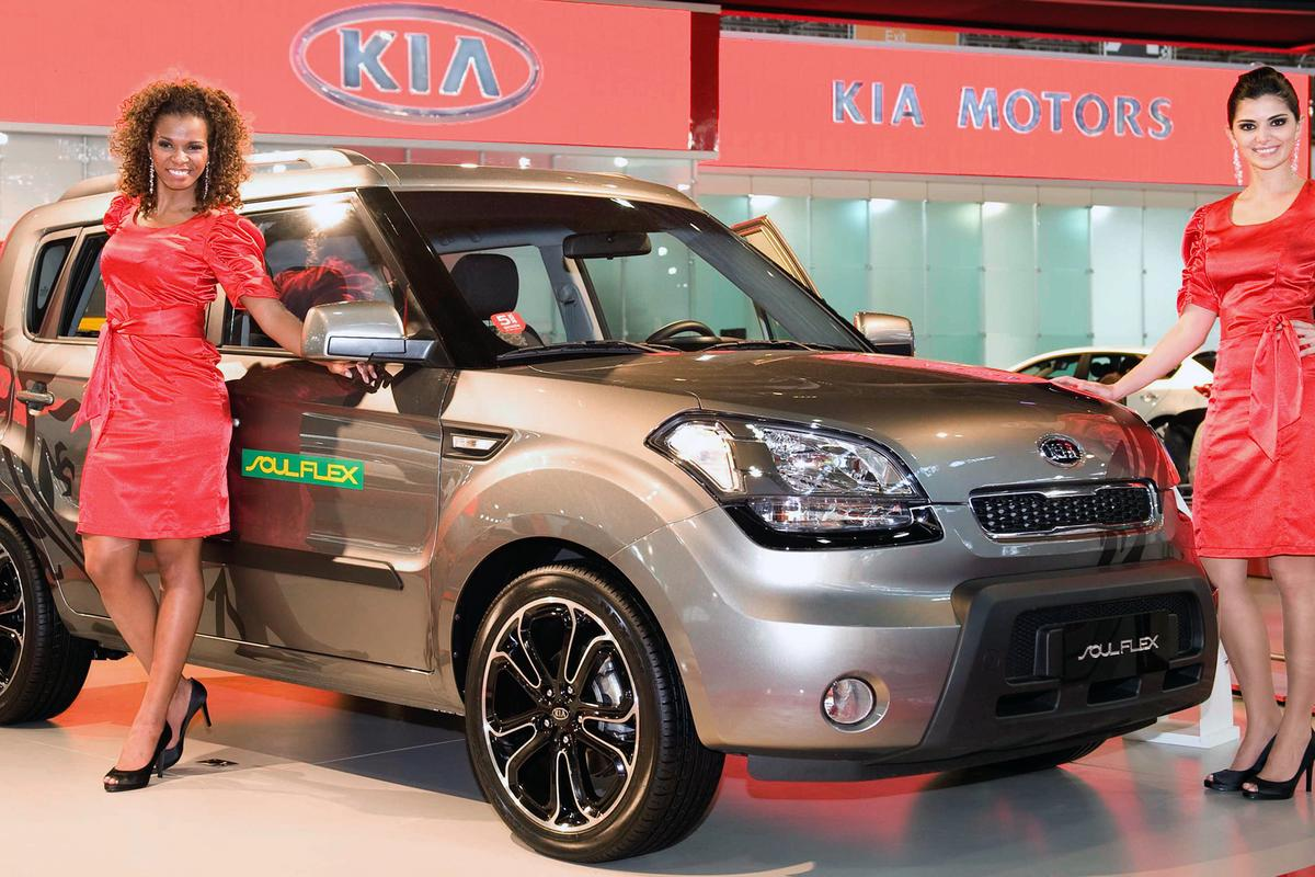Kia's Soul Flex on show in Brazil