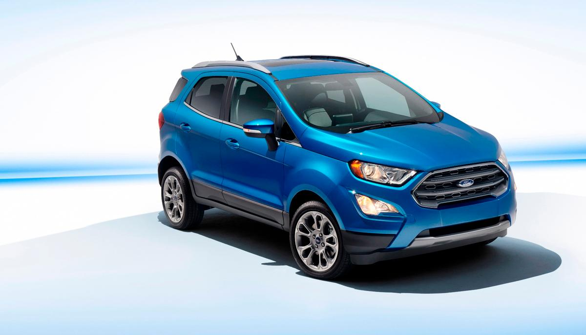 The EcoSport will debut at the LA Motor Show, but doesn't land in showrooms until early 2018