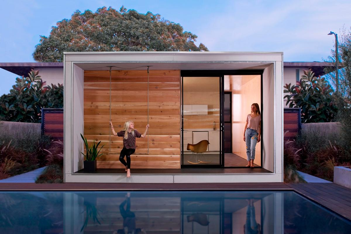 Santa Monica-based architectural firm Minarc has created an energy-efficient modular home that won't break the bank