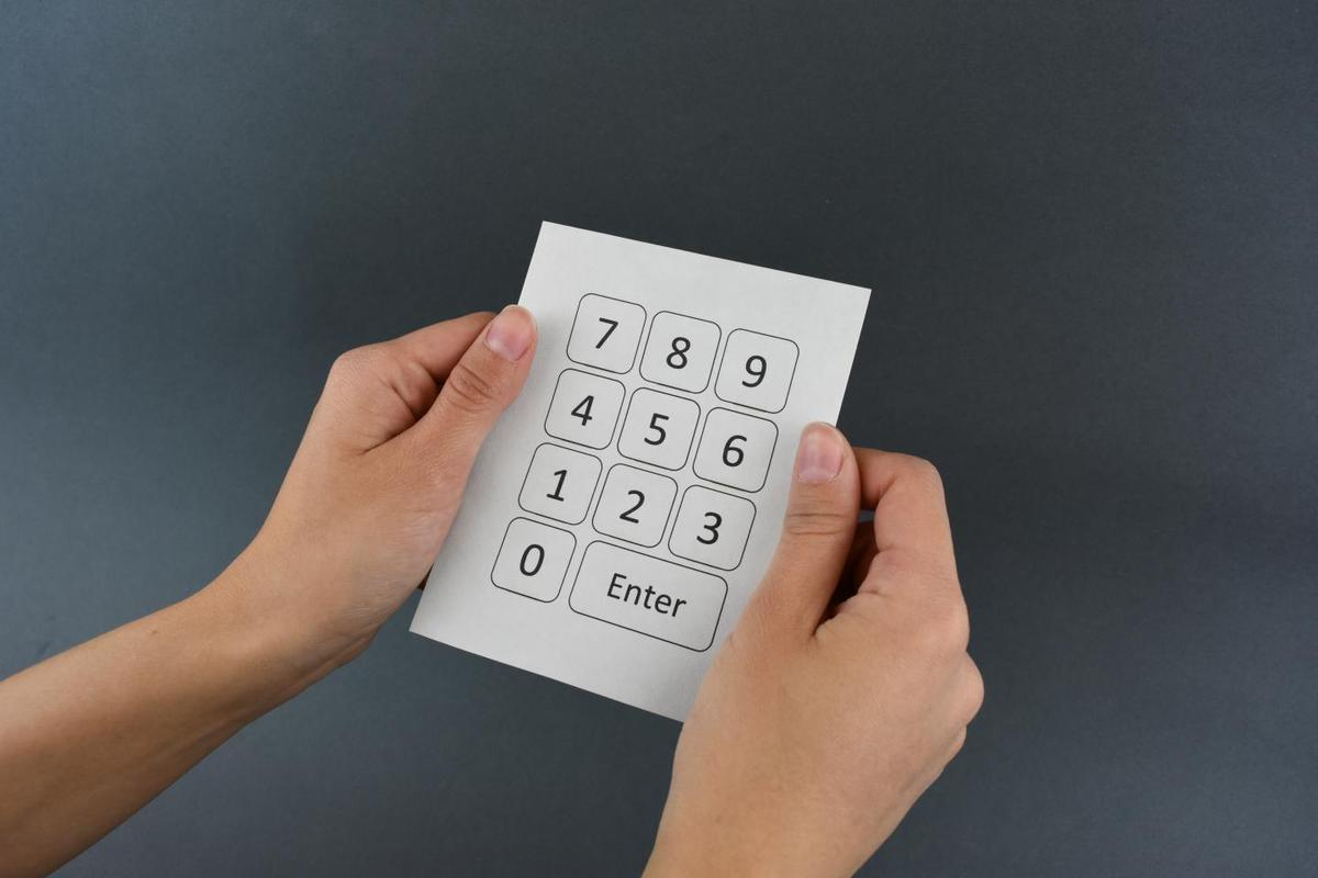 Researchers demonstrated their new technology by turning a sheet of paper into a keypad capable of wireless data transmission