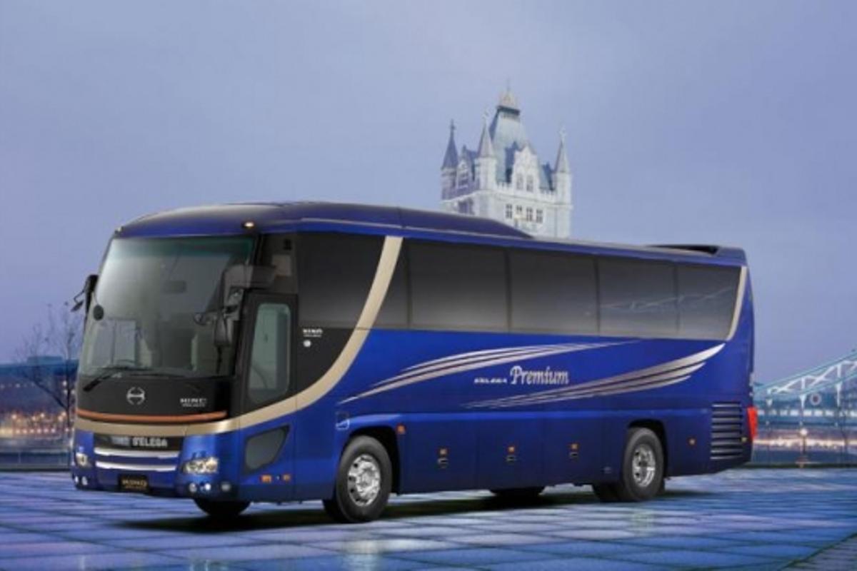 Hino's S'elega Premium concept motorcoach
