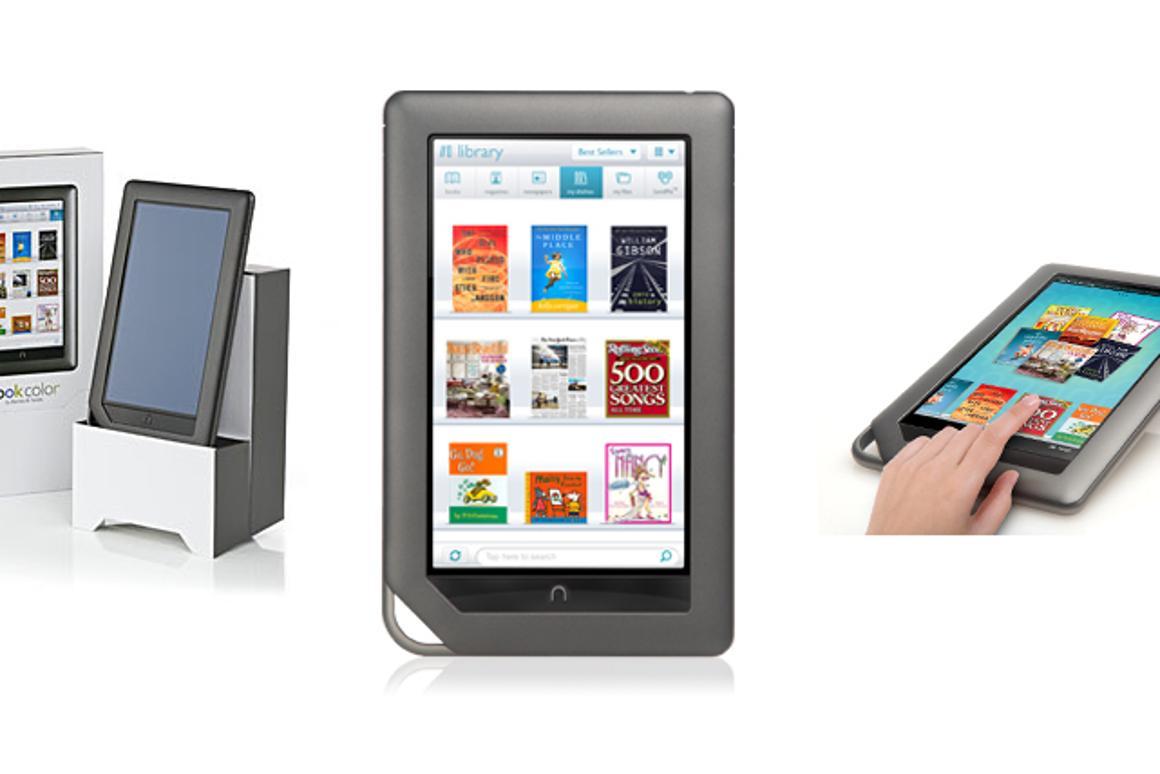 Barnes & Noble NOOKcolor e-reader