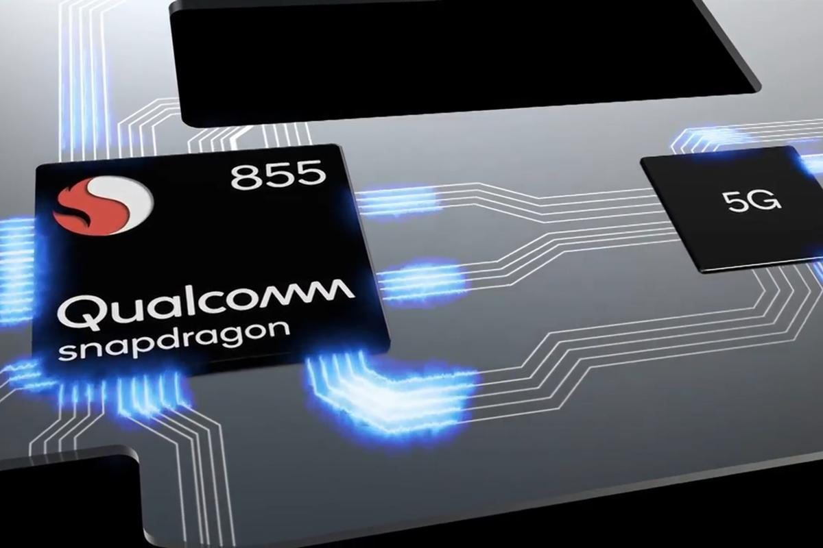 The Qualcomm Snapdragon 855 includes improved AI and 5G support