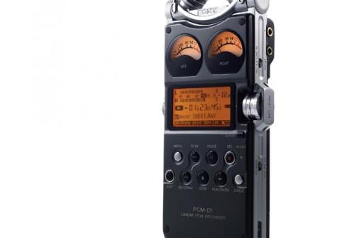 The Sony PCM-D1 Portable Recorder