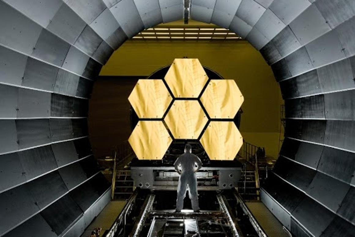 JWST's golden mirrors