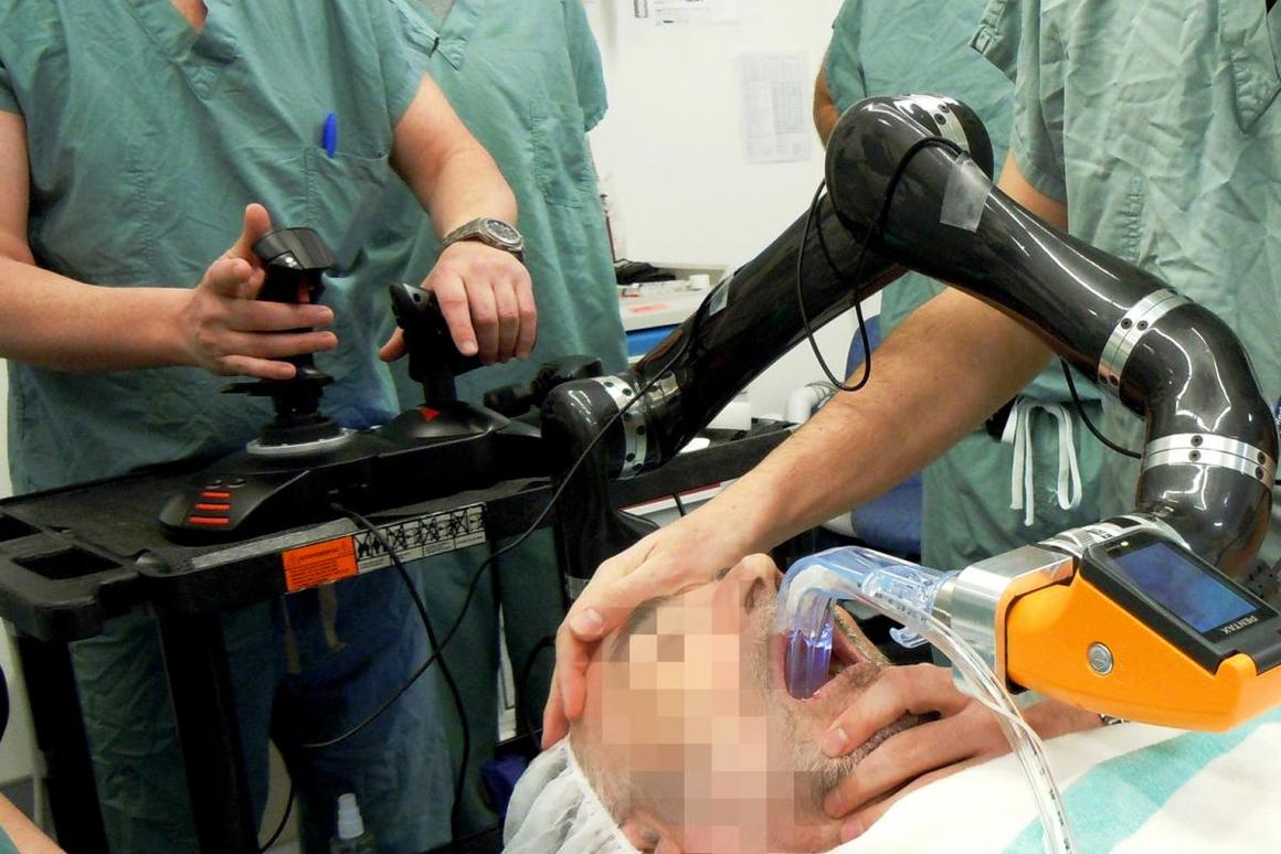 World's first intubation robot tested on human subjects