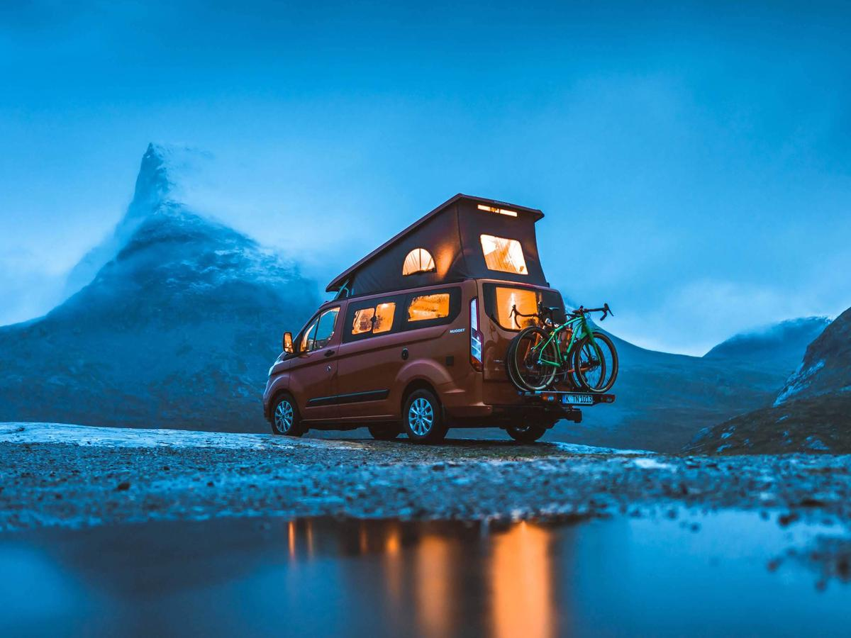 "The first of Ford's ""Great Escapes"" YouTube series shows a pair of Nugget adventurers traveling around Norway"