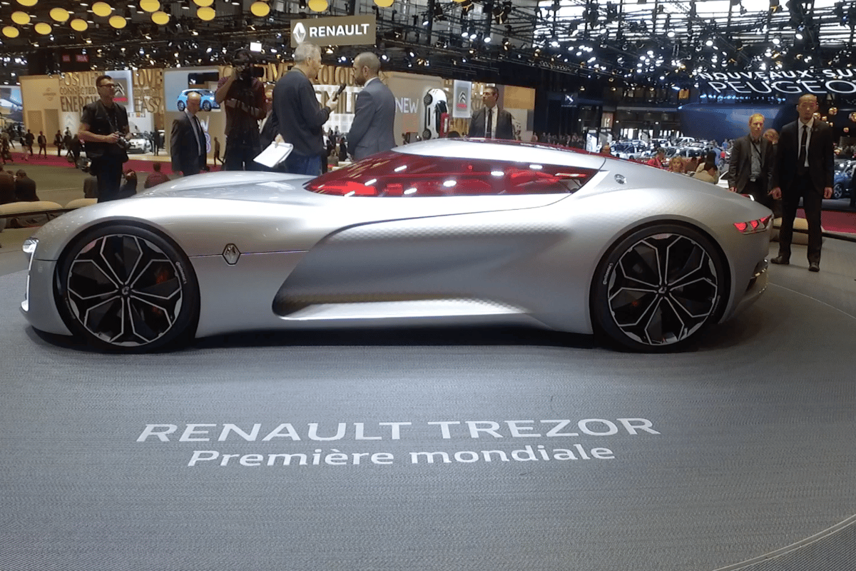 The Renault Trezor was high on our list of favorites from the 2016 Paris Motor Show