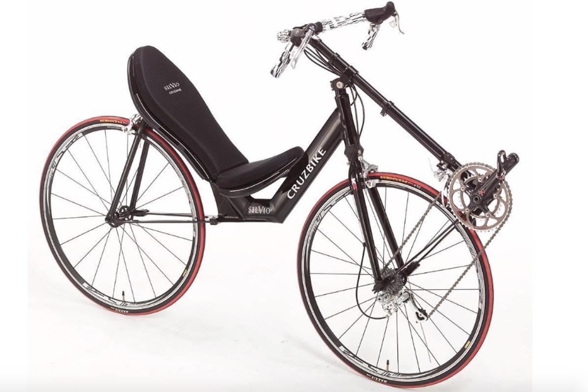 The front-wheel-drive Cruzbike Silvio