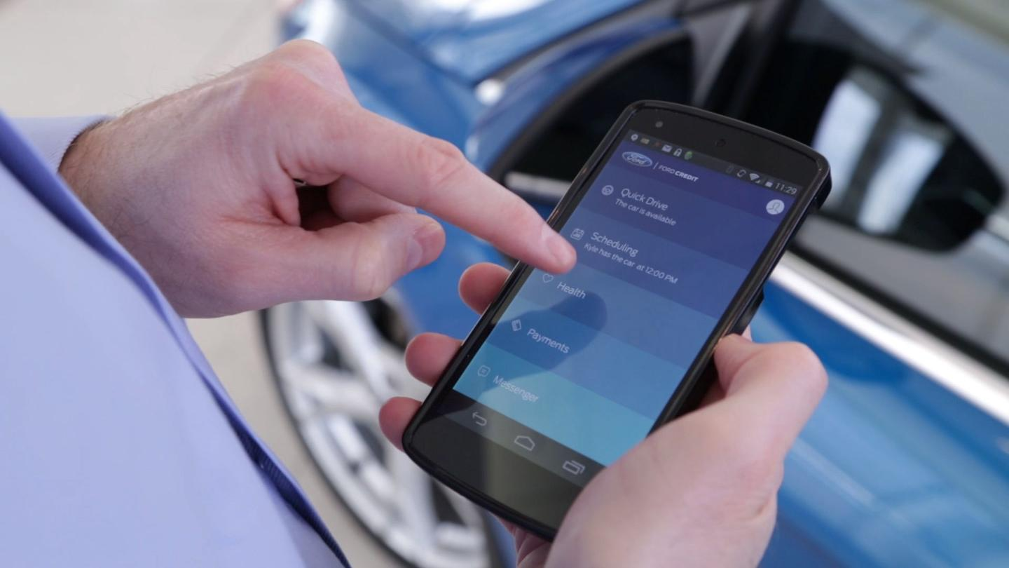 Ford's pilot program for a fractional-ownership lease scheme uses an app to allow those involved to interact, as well as pay their portion of the vehicle's costs