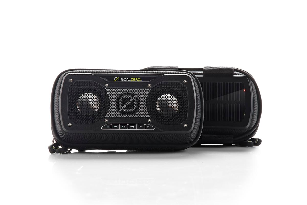 Goal Zero has launched the Rock Out 2 Solar Speaker