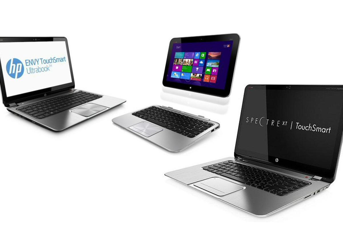 With the release of Windows 8 just around the corner, HP has unveiled two new touch-enabled Ultrabooks and a hybrid tablet/notebook
