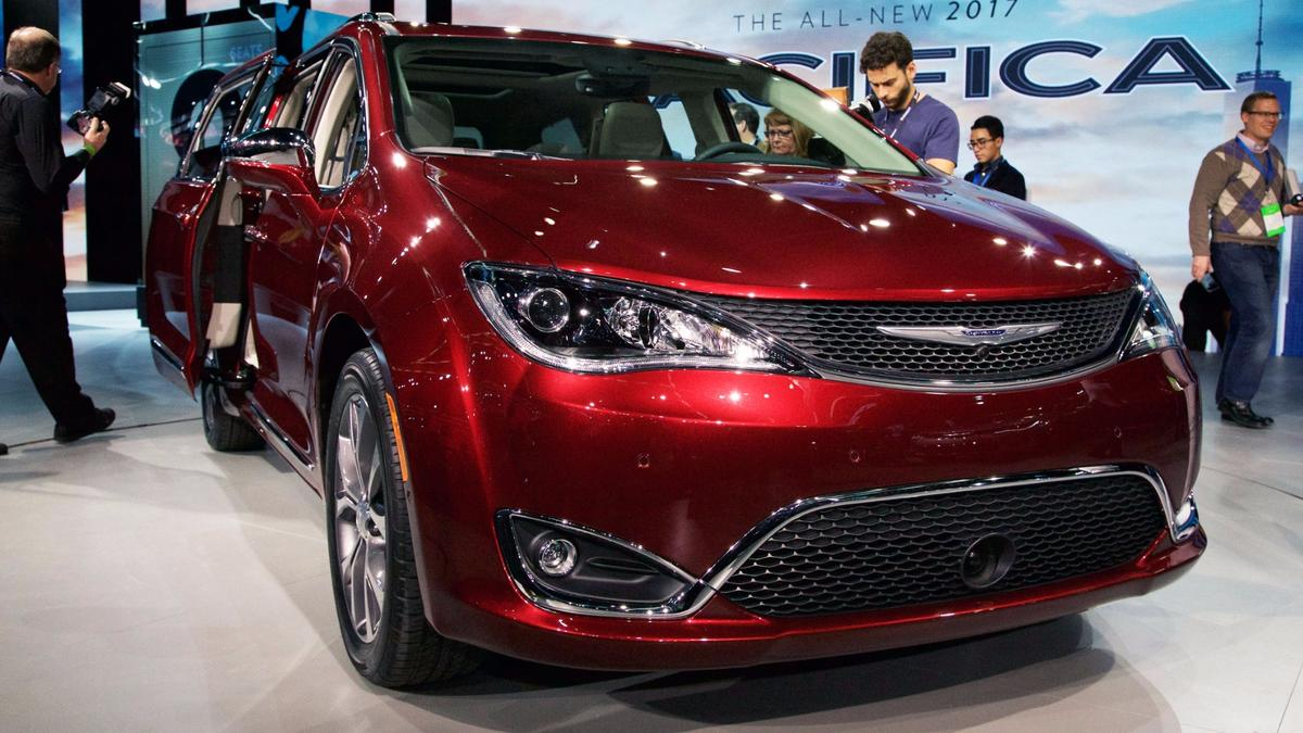 The Pacifica has been designed as a practical, stylish alternative to run-of-the-mill SUVs