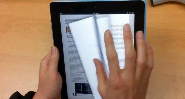 The Smart E-book System incorporates features that are intended to make the reading of digital documents more like reading a book or magazine