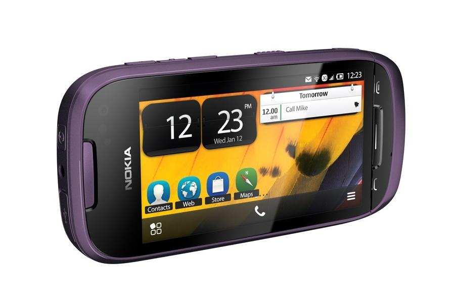 Nokia has announced that free Microsoft Apps will be offered as part of Symbian Belle OS (Pictured: Nokia 701)