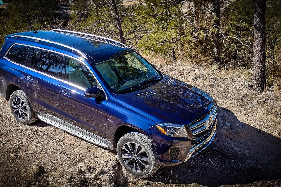 The 2019 Mercedes-Benz GLS can carry seven adults in comfort