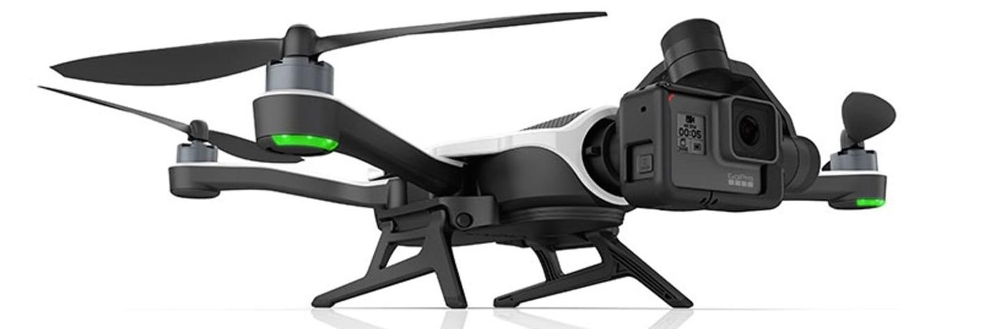 The action camera company is showing off its Karma drone at CES this week