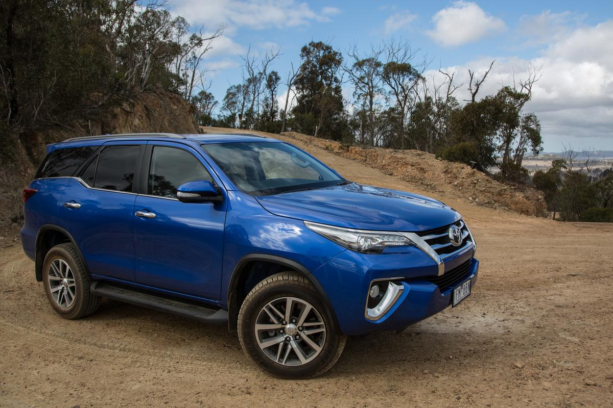 Built on the same base as the Toyota Hilux, the Fortuner has some serious off-road credentials