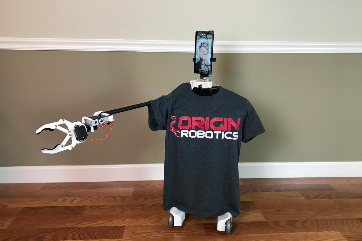 The Origibot2 is presently the subject of a crowdfunding program