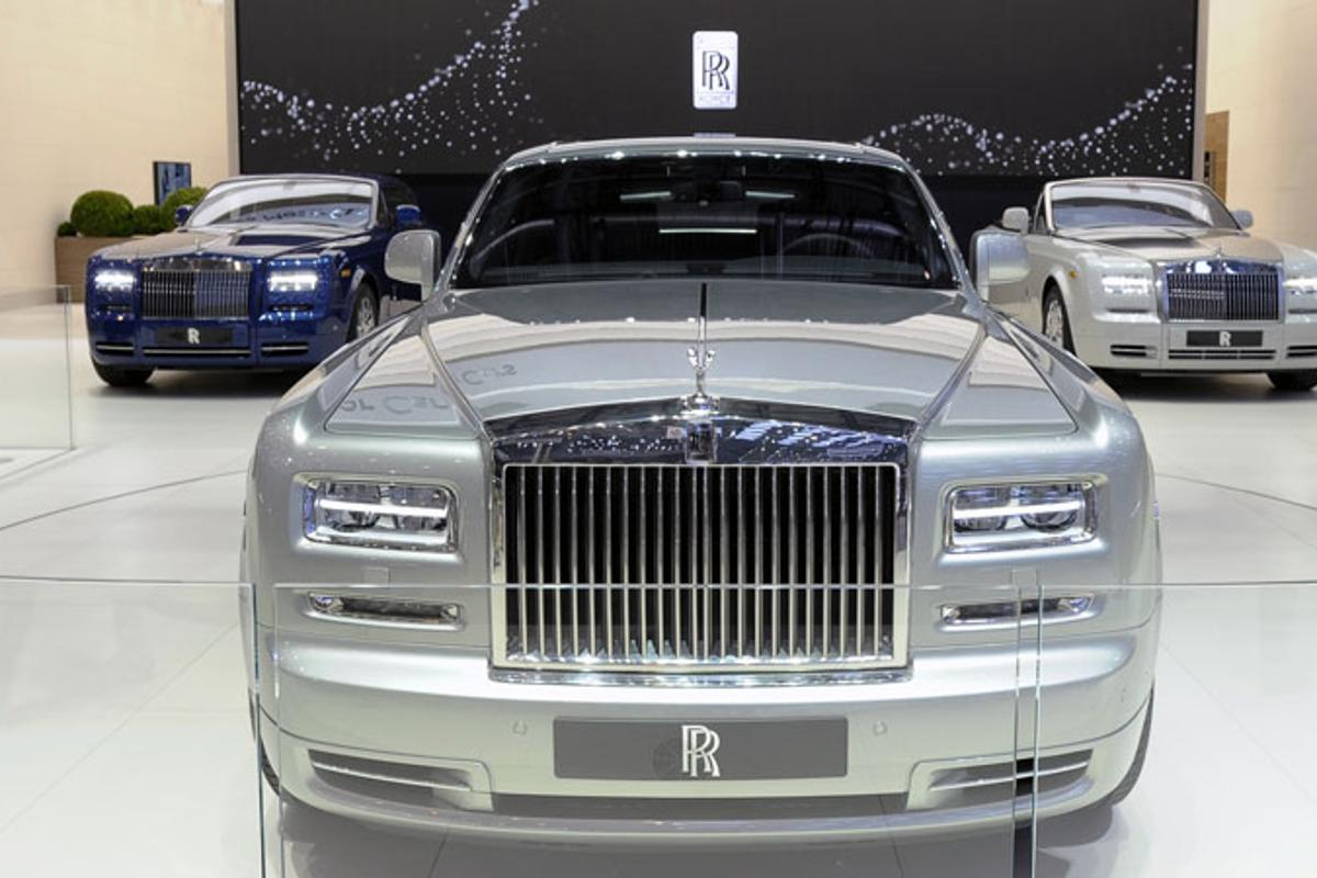 The new Series ll Rolls-Royce Phantoms at Geneva