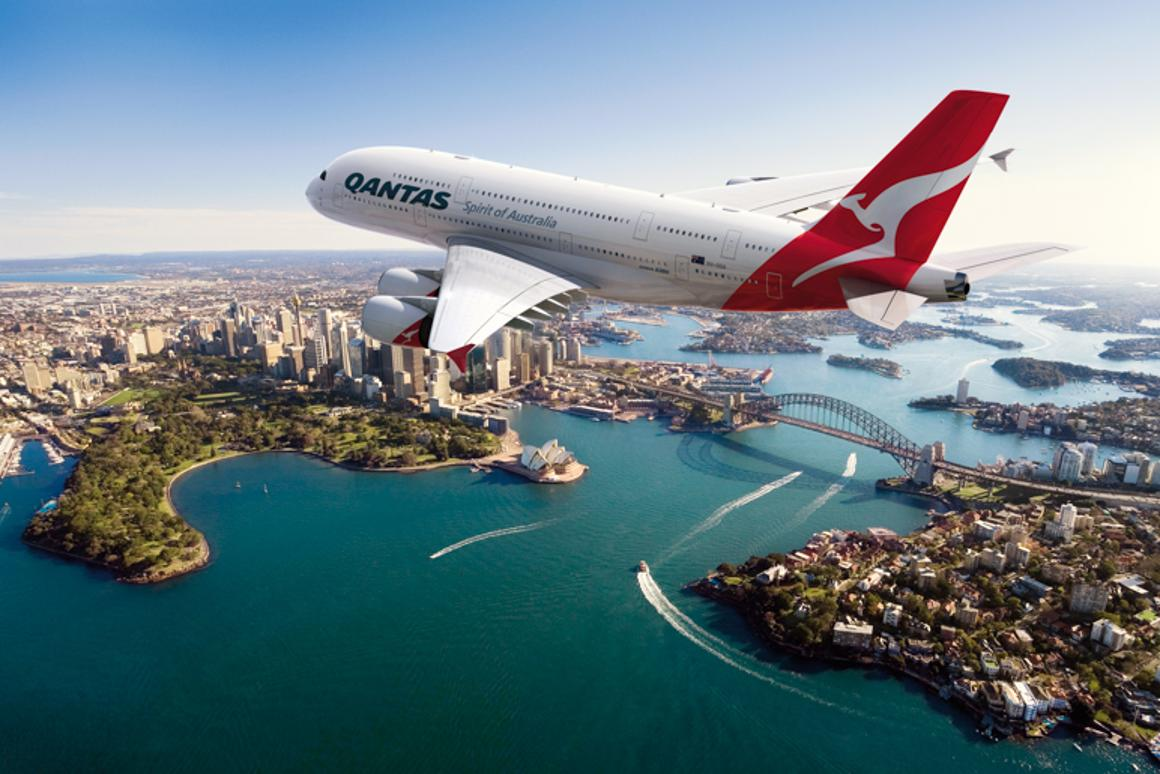 Qantas has launched a new A380 service between Sydney and Dallas/Fort Worth