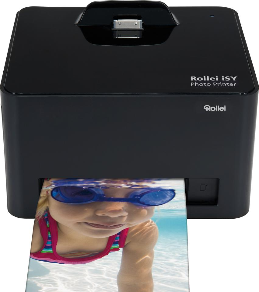 The Rollei iSY Photo Printer produces prints similar to those produced by a traditional lab