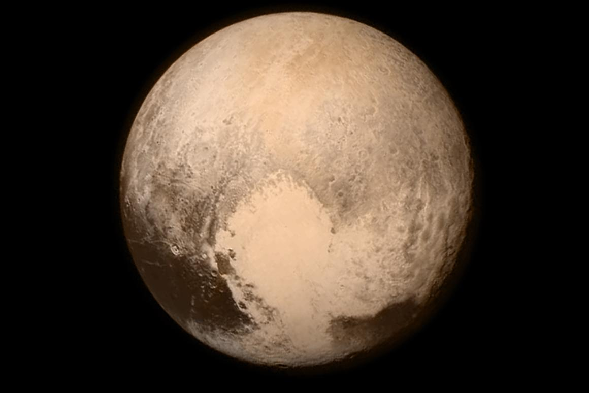 New horizons flew by Pluto in July 2015 and is still returning data from the encounter